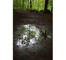 above and below Photographic Print