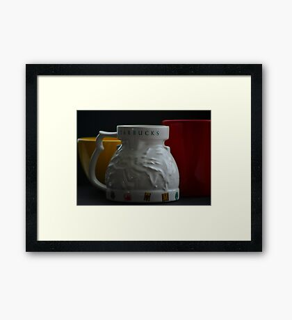 The Starbuck World Cup Framed Print