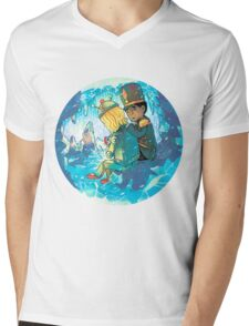Cave of Frozen Memories (Community) Mens V-Neck T-Shirt
