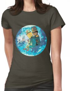 Cave of Frozen Memories (Community) Womens Fitted T-Shirt