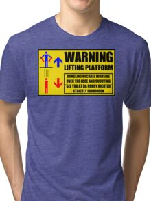 Health And Safety On Mars Tri-blend T-Shirt