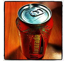Lucozade Photographic Print