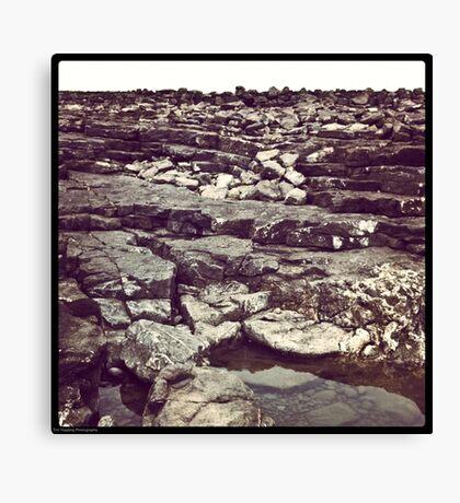 Ogmore rocks Canvas Print