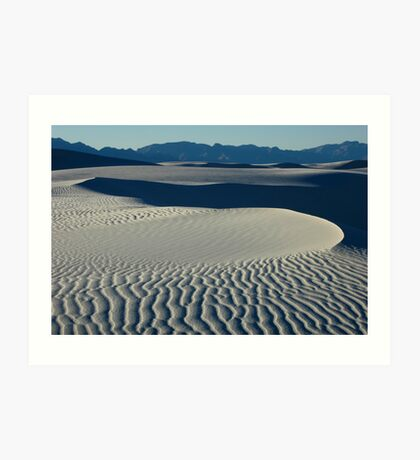 Sand Patterns Art Print