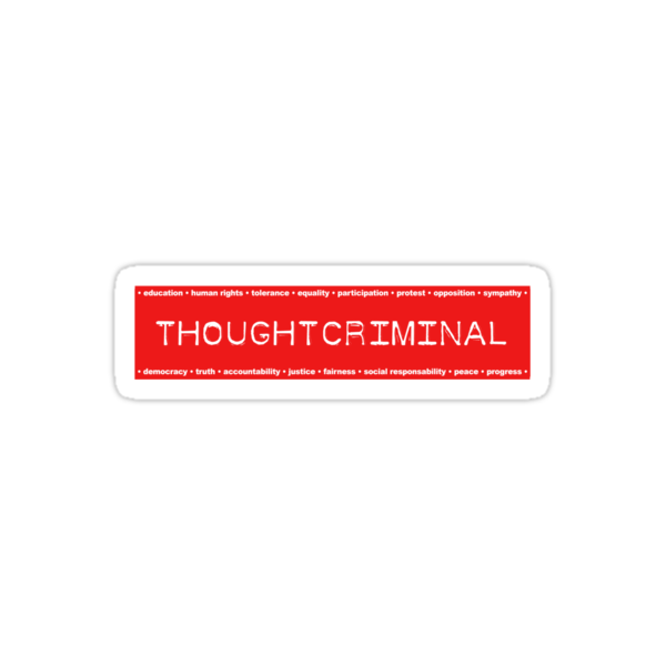 THOUGHTCRIMINAL ?  by Yago