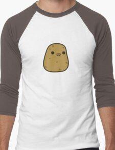 Cute potato Men's Baseball ¾ T-Shirt