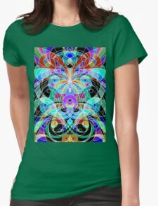 Ethnic Style Womens Fitted T-Shirt