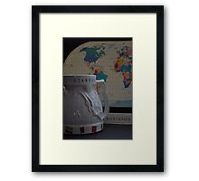Robinson's World Coffee Cup Framed Print