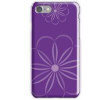 PurpleFlower iPhone Case/Skin