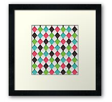 Origami Scales Framed Print