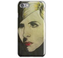 portrait of Blond iPhone Case/Skin