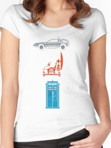 Time Machines Women's Fitted Scoop T-Shirt