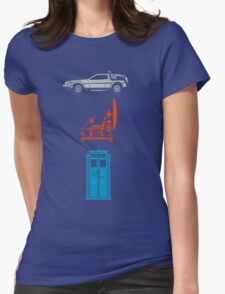 Time Machines Womens Fitted T-Shirt