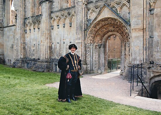 Sir Richard Pollard of Glastonbury Abbey by Grace Johnson
