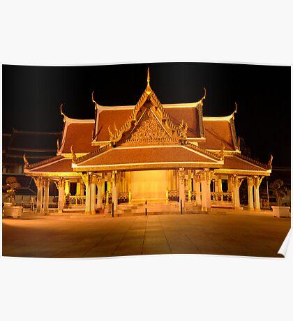 Golden Temple Bangkok Poster