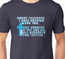Twit Faced Unisex T-Shirt