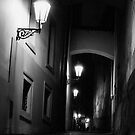 Prague by Night II by Matthew Pugh