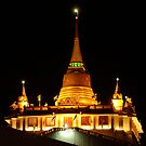Golden Mount Temple Bangkok by Bob Christopher