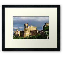 The King's Castle Framed Print
