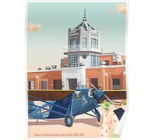 Art Deco Kansas City Municipal Airport 1928 Poster