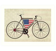 Love Bike, Love America Art Print