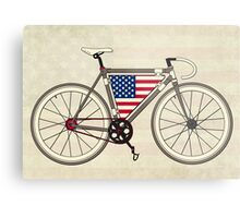 Love Bike, Love America Metal Print