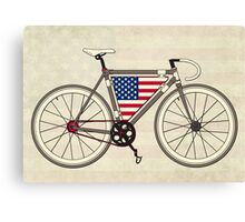 Love Bike, Love America Canvas Print