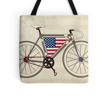 Love Bike, Love America Tote Bag