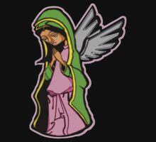 SHE WHO PRAYED FOR FORGIVENESS (NO BACKGROUND) Kids Clothes