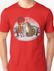 Red Riding Hat Unisex T-Shirt