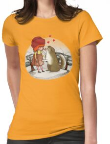 Red Riding Hat Womens Fitted T-Shirt