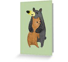 Bearhug! Greeting Card