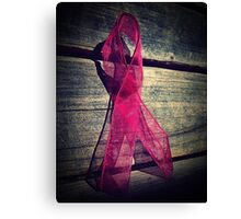 Support Breast Cancer  Canvas Print