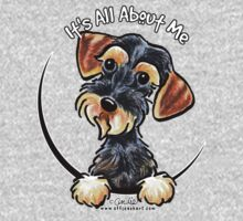 Wild Boar Wirehaired Dachshund :: It's All About Me Kids Tee