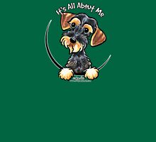 Wild Boar Wirehaired Dachshund :: It's All About Me Womens Fitted T-Shirt
