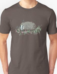 Badger In Grass Unisex T-Shirt