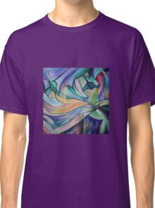 Middle Eastern Belly Dance With Pastel Veils Classic T-Shirt