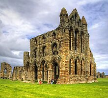The Abbey at Whitby by Tom Gomez