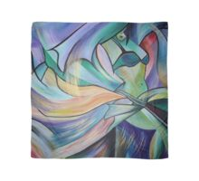 Middle Eastern Belly Dance With Pastel Veils Scarf