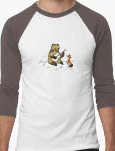 Bear & Fox Men's Baseball ¾ T-Shirt