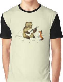 Bear & Fox Graphic T-Shirt