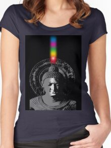 buddha energy Women's Fitted Scoop T-Shirt
