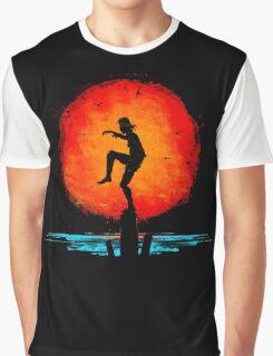 Minimal California Training Graphic T-Shirt