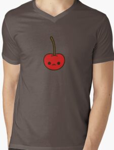 Cute cherry Mens V-Neck T-Shirt