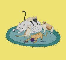 Caturday Pile Baby Tee