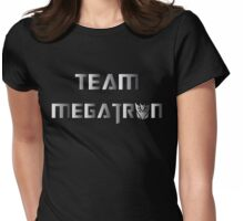 Team Megatron (metal) Womens Fitted T-Shirt