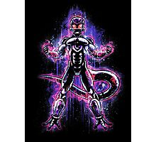 Lord Frieza Epic Evil Portrait Photographic Print