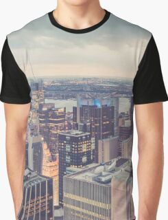 Clearing Storm from Top of the Rock Graphic T-Shirt