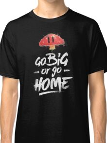 Super Mario Brothers Inspired Smash Type Art Classic T-Shirt