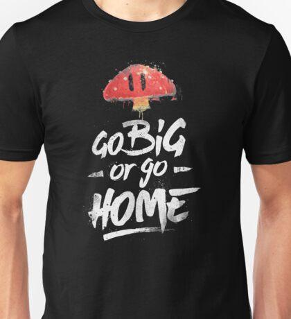 Super Mario Brothers Inspired Smash Type Art Unisex T-Shirt